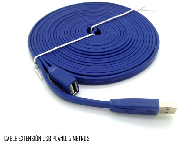 CABLE HAVIT USB 2.0 EXTENSION CABLE - 5M PLANO