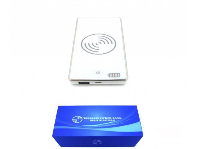 CARGADOR INALAMBRICO  POWER BANK PARA USB  MICRO USB Y UP1