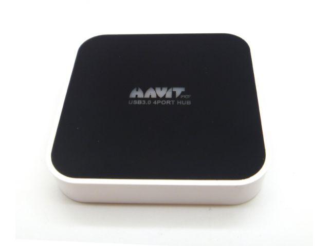 HUB HAVIT USB 3.0 VELOCIDAD DE TRANSMISION 5GB POR SEGUNDOC4 PUERTOS