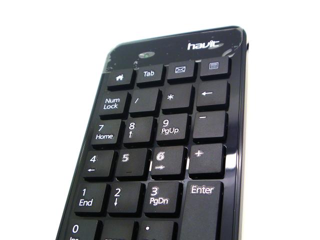 TECLADO NUMERICO HAVIT USB (23 TECLAS) NEGRO