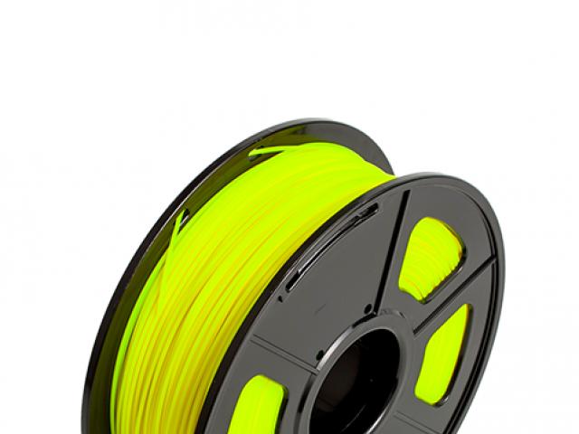 FILAMENTO PIMPRESORA 3D PLASTICO DE 1.75 MM  1KG YELLOW