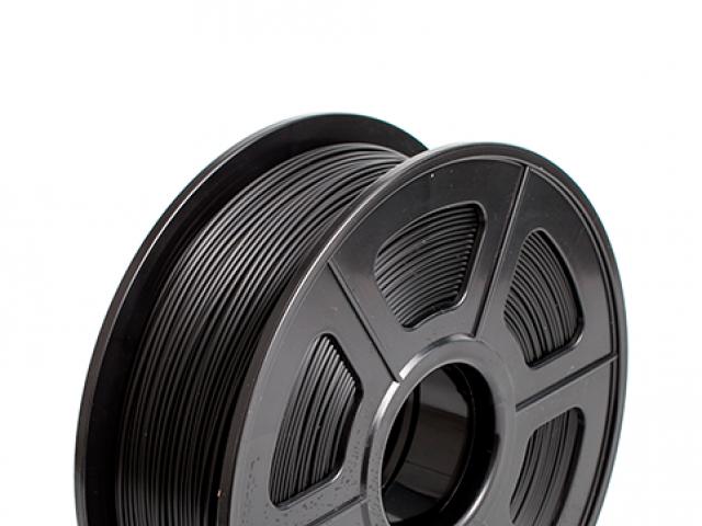 FILAMENTO PIMPRESORA 3D PLA + DE 1.75 MM  1 KG BLACK