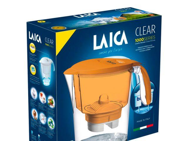 JARRA LAICA CLEAR NARANJA 2.3 lts