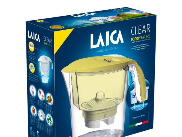 JARRA LAICA CLEAR AMARILLA 2.3 lts