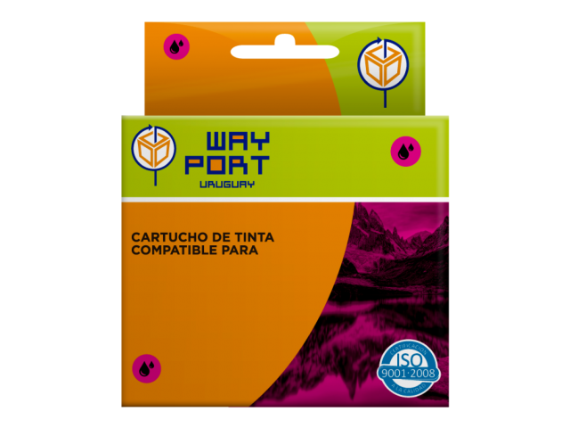 CART. WAYPORT MAGENTA PBROTHER LC61LC980 DCP-145C165C385C585CWJ6156690CW; MFC-250C290C490CW790CW990CW5490CN5890CN6490CW