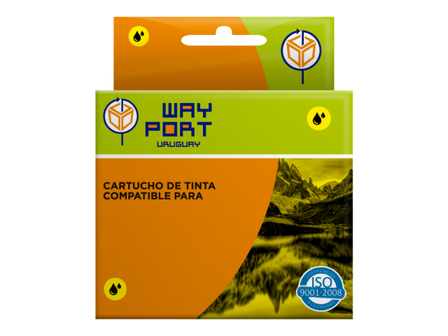 CART. WAYPORT YELLOW PBROTHER LC39LC60LC985 DCP-J125  DCP-J140W  DCP-J315W  DCP-J515W  MFC-J220 MFC-J265W  MFC-J410  MFC-J415W