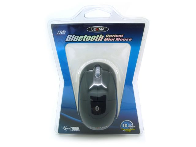 BLUETOOTH 2.0 MINI MOUSE ÓPTICO NEGRO LARGO 89 MM