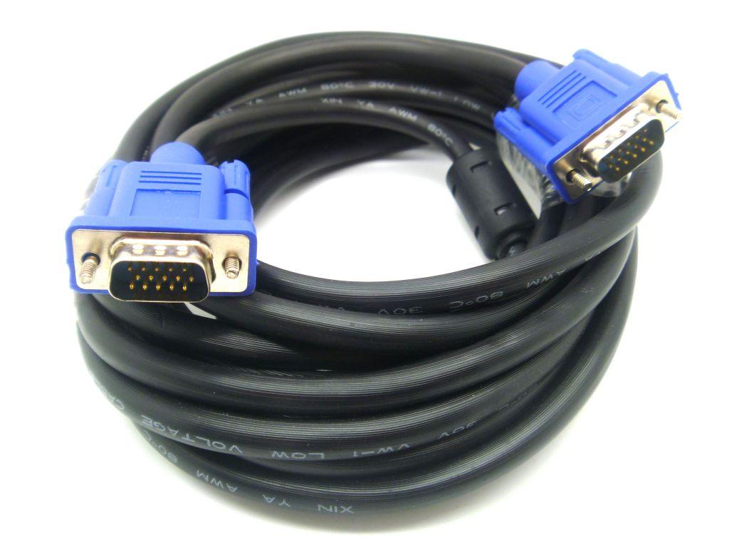 CABLE HAVIT 5M VGA MACHO MACHO CABLE 15 PINS