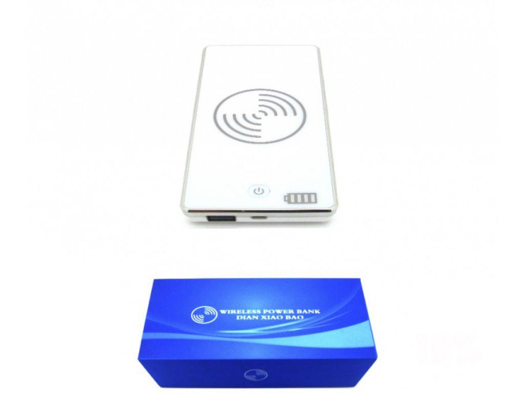 CARGADOR INALAMBRICO / POWER BANK PARA USB / MICRO USB Y UP1