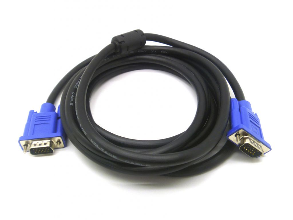 CABLE HAVIT 3M VGA MACHO MACHO CABLE 15 PINS