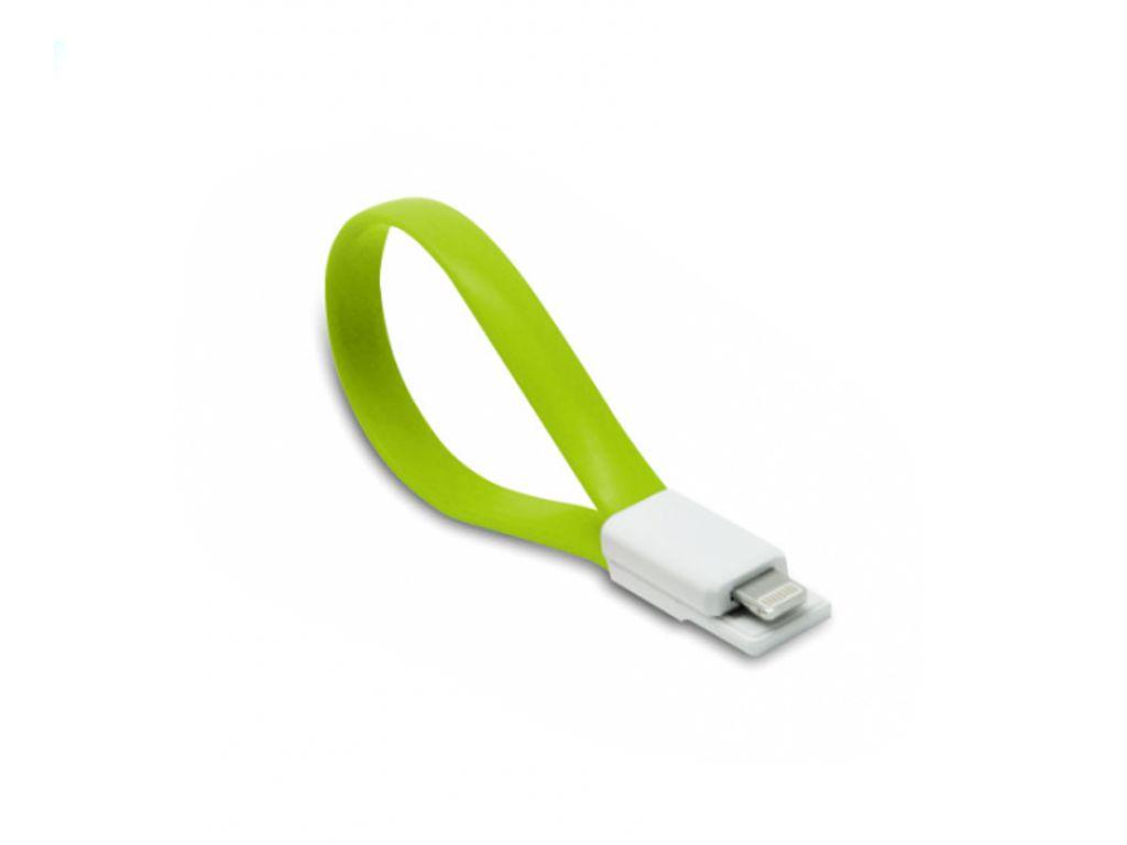 CABLE HAVIT DE iPHONE5 A USB CON PUNTAS MAGNETICAS Y CONECTOR MODERNO DE 22.5 CM DE LARGO