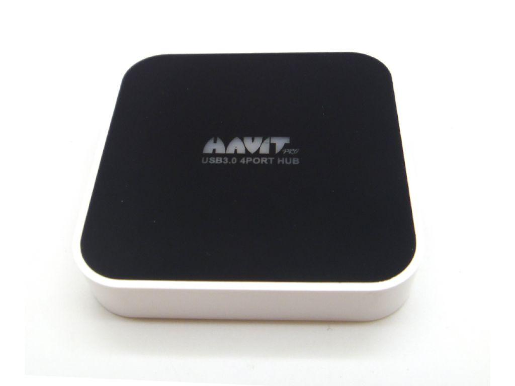 HUB HAVIT USB 3.0 VELOCIDAD DE TRANSMISION 5GB POR SEGUNDOC/4 PUERTOS
