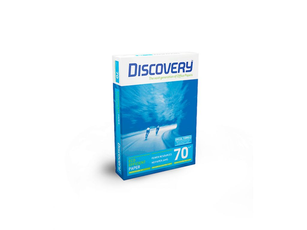 PAPEL FOTOCOPIA DISCOVERY 70G A4