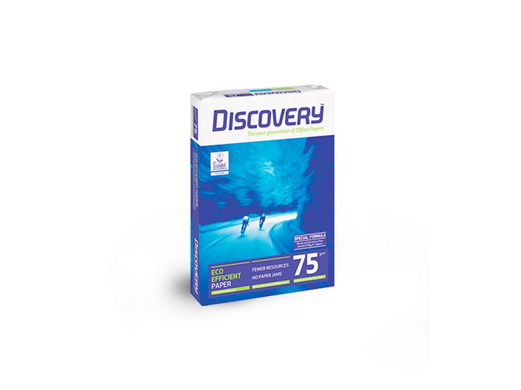 PAPEL FOTOCOPIA DISCOVERY 75G A3