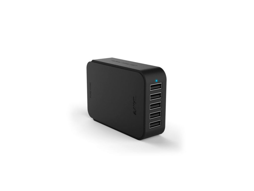 CARGADOR HAVIT USB 5 PUERTOS/8A - CABLE DE 1.2M