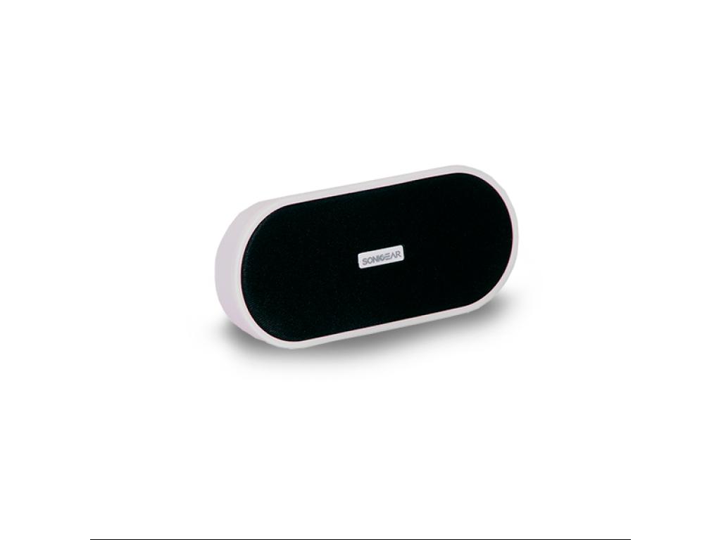 AUDIO PORTATIL 2GO NOW! 3W C/ BAT. LITIO RECARGABLE USB/ELECTR., WHITE