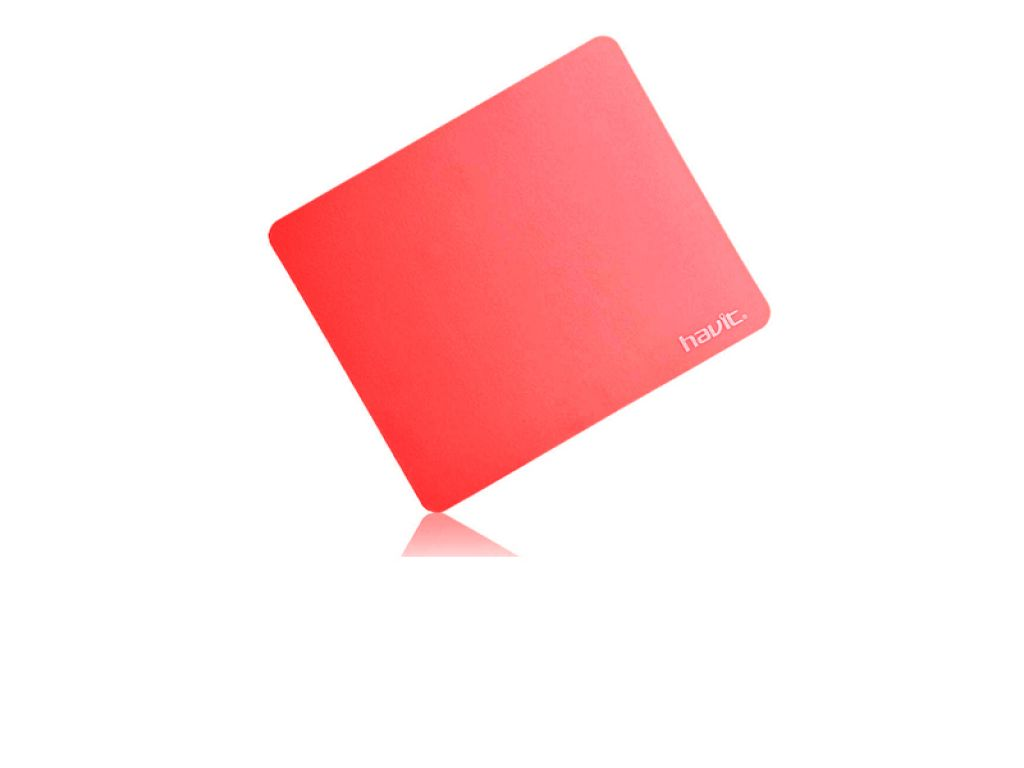 MOUSEPAD HAVIT CUADRADO RED