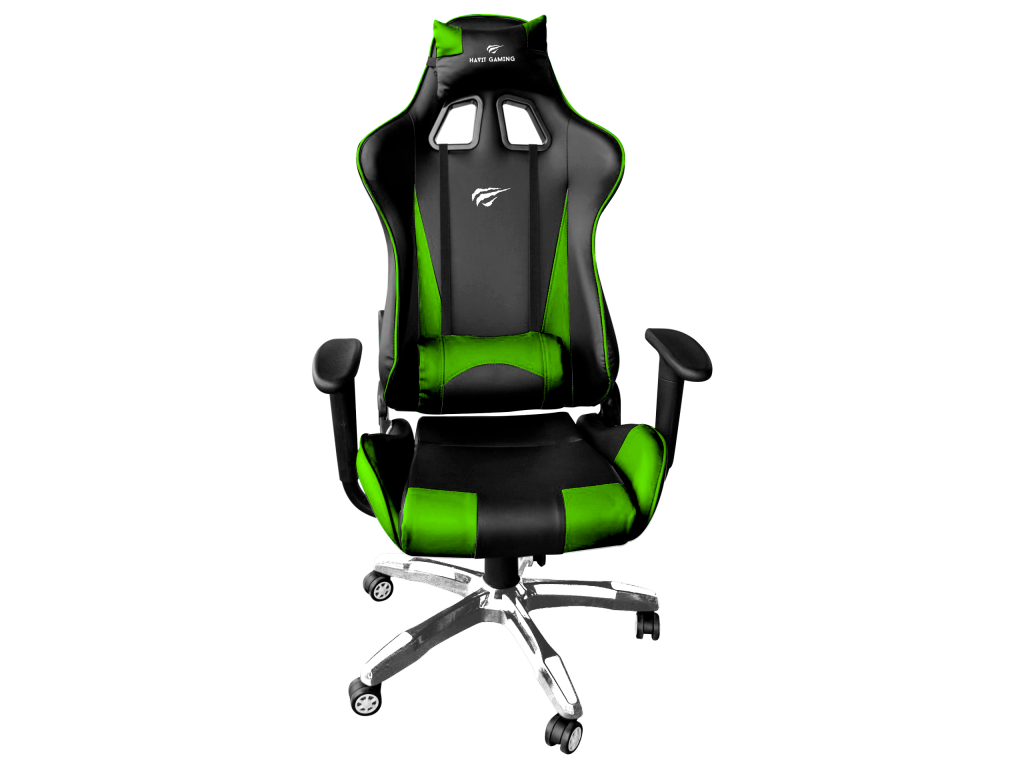 SILLA GAMER BLACK AND GREEN