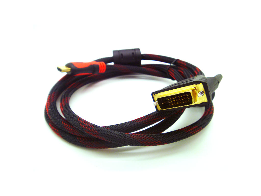 CABLE HAVIT 1.5M HDMI TO DVI CABLE (DVI 24+1)