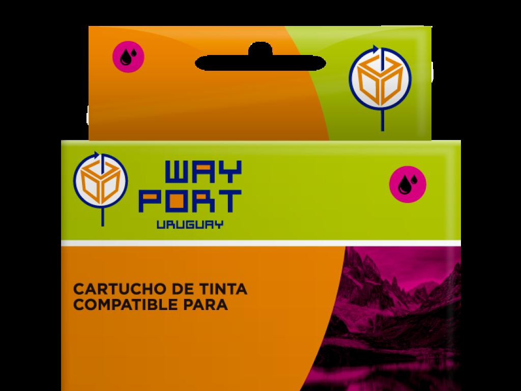 CART. WAYPORT  P/CANON CLi151 MAGENTA PIXMA iP7210 / IX6810 / MG5410 / MG5510 / MG6310 / MG6410 / MG7110 / MX721