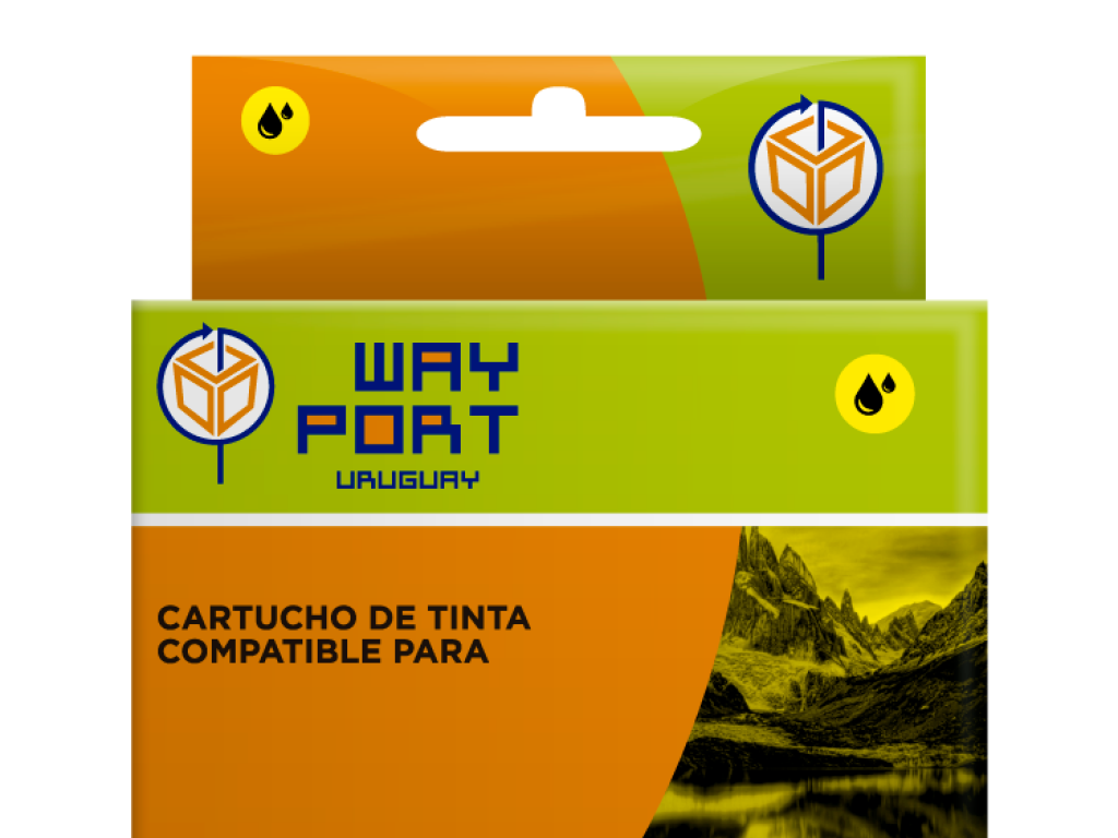 CART. WAYPORT YELLOW P/CANON PIXMA iP4810/IP4910/MG6110/iX6510/MG5210