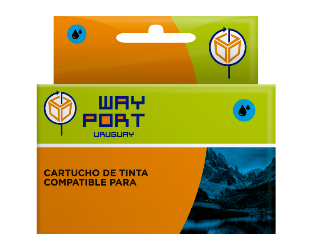 CART. WAYPORT CYAN P/CANON PIXMA iP4810/IP4910/MG6110/iX6510/MG5210