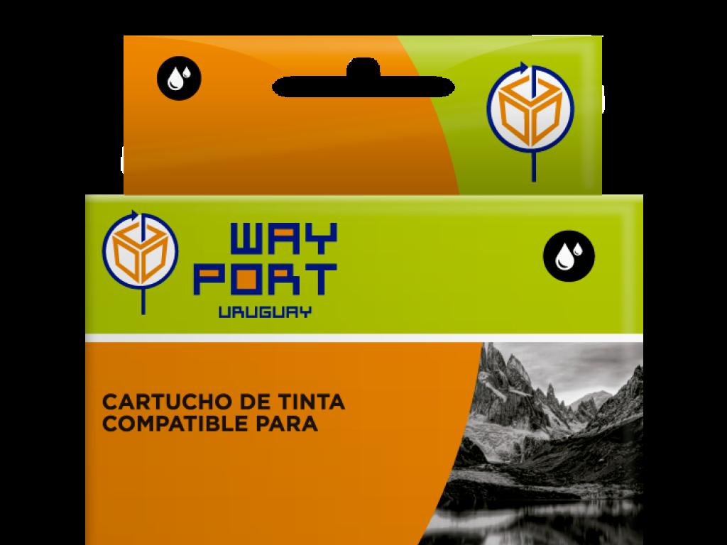 CART. WAYPORT HP CZ117AL (670XL) NEGRO 3525/4615 550 cps