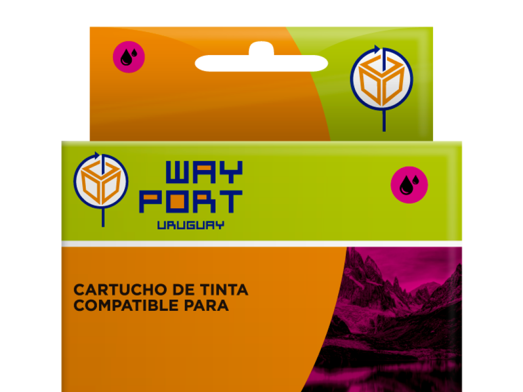 CART. WAYPORT MAGENTA LC 101 DOBLE CARGA / LC 103  P/BROTHER DCP-J152W / MFC-J245/MFC-J650DW/MFC-J870DW