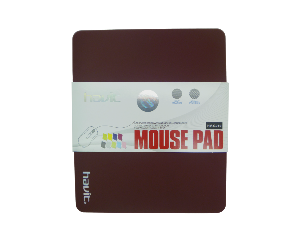 MOUSEPAD HAVIT CUADRADO BROWN
