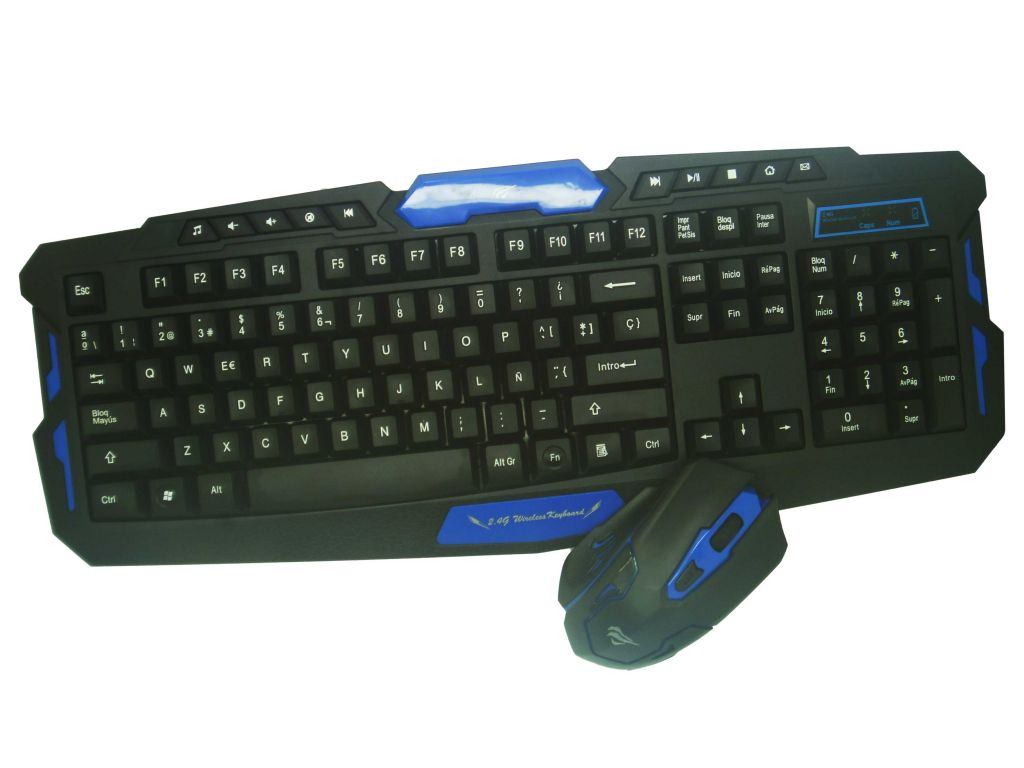 SET HAVIT DE TECLADO Y MOUSE USB MULTIMEDIA GAMER, CABLE 1.5M
