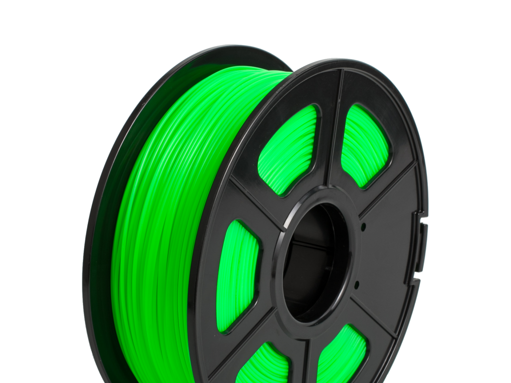 FILAMENTO P/IMPRESORA 3D PLA FLEXIBLE GREEN DE 1.75MM / 500 GR