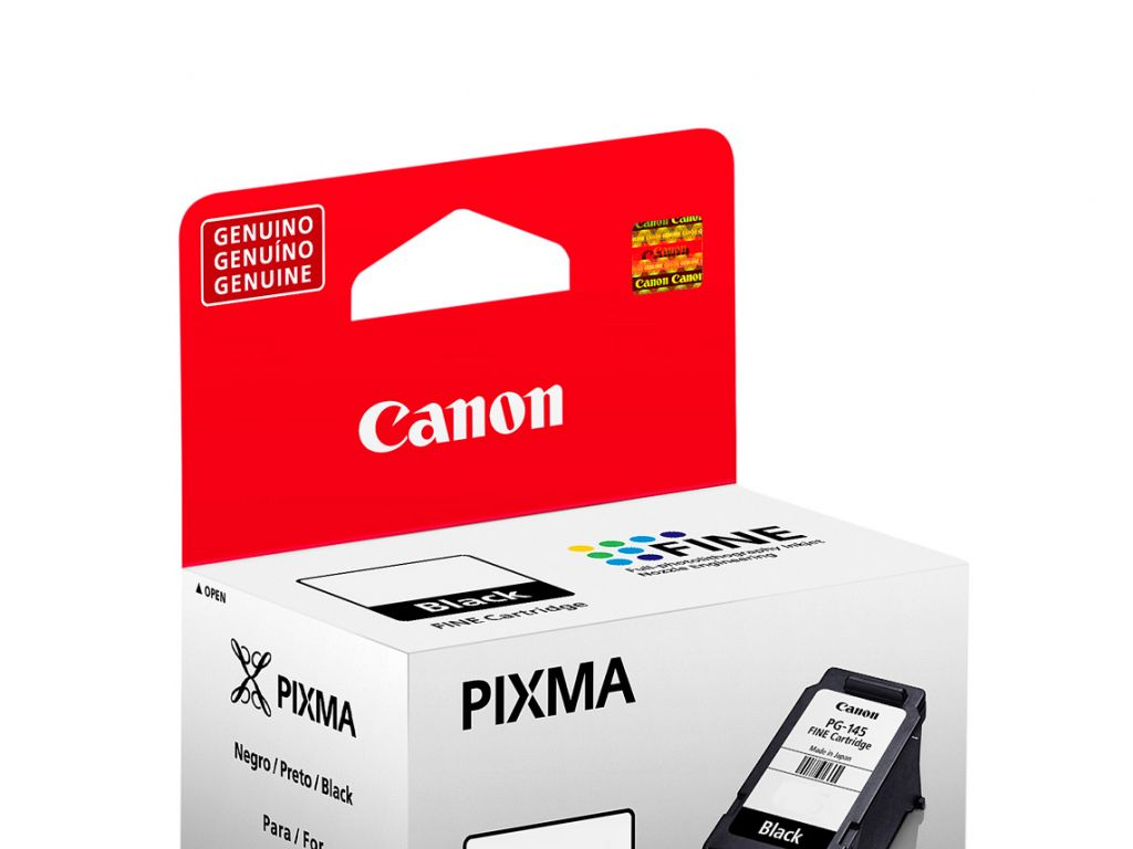 CART.ORIG. P/CANON PG-145 NEGRO PIXMA IP 2810 / MG 2410 / MG 2510 / MG 2910