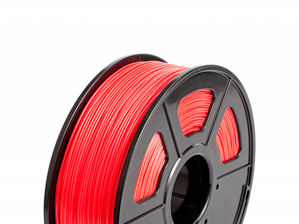 FILAMENTO P/IMPRESORA 3D PLA FLEXIBLE RED DE 1.75MM / 500 GR
