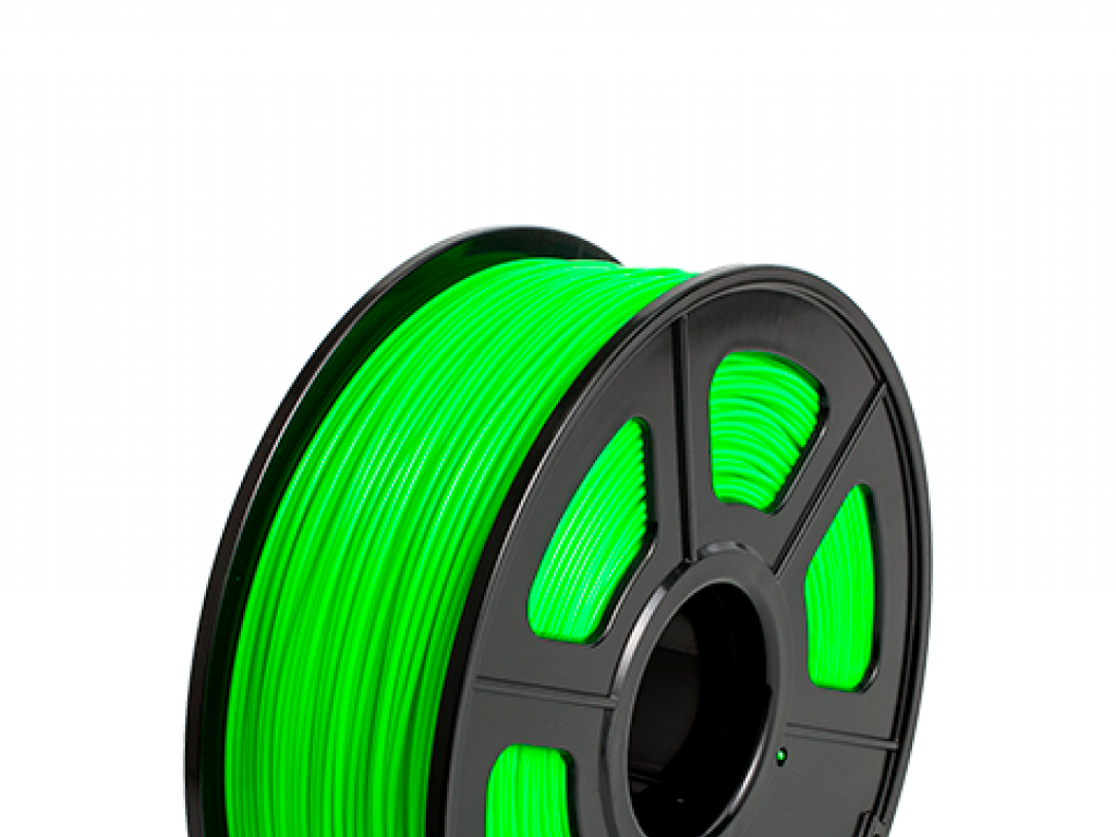 FILAMENTO LUMINOUS P/IMPRESORA 3D PLA DE 3.00 MM / 500 G GREEN