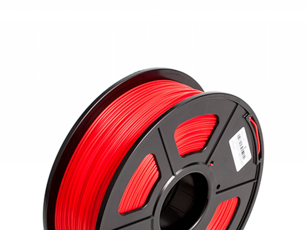 FILAMENTO LUMINOUS P/IMPRESORA 3D PLA DE 1.75 MM / 1 KG RED