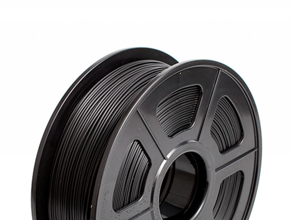 FILAMENTO P/IMPRESORA 3D PLA + DE 1.75 MM / 1 KG BLACK