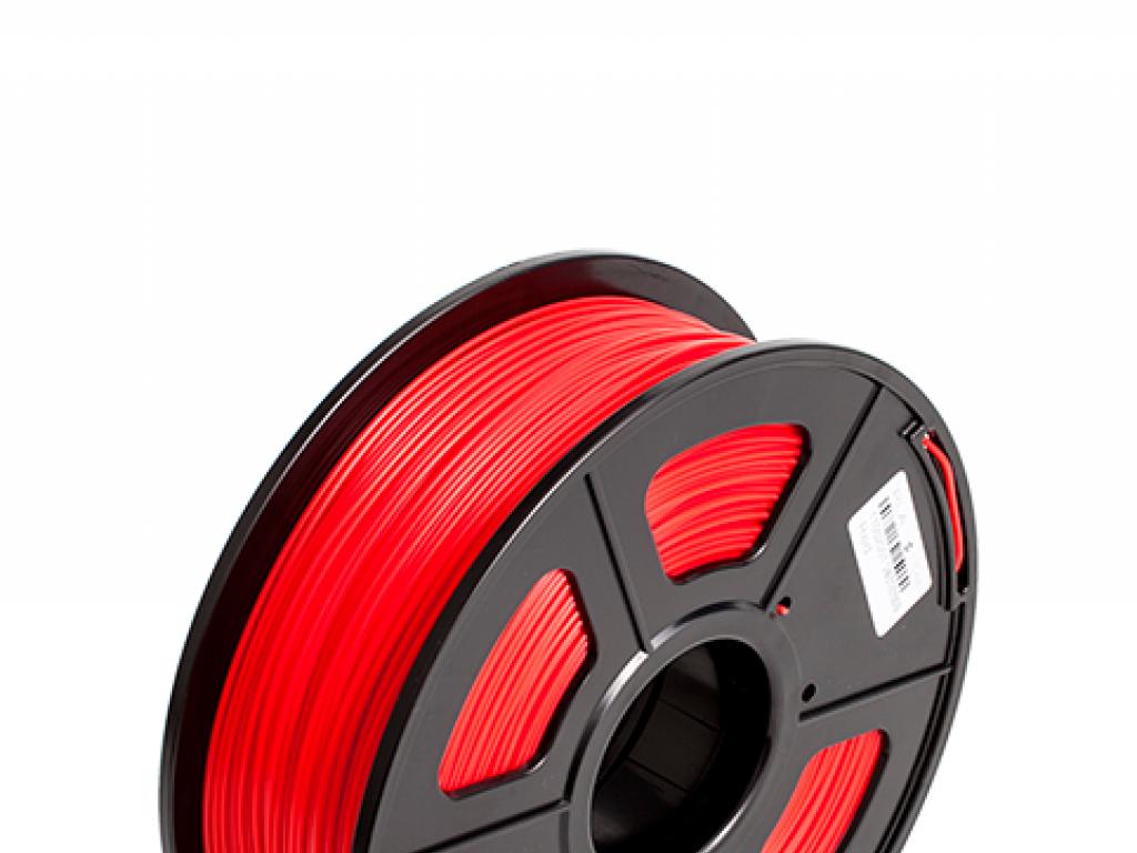 FILAMENTO P/IMPRESORA 3D PLA DE 3.00 MM / 1KG RED