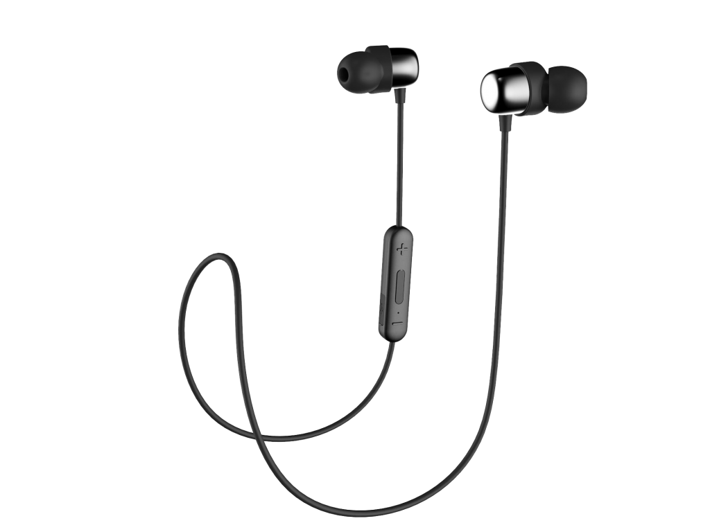 AURICULAR HAVIT INALAMBRICO CON BLUETOOTH Y BOTÓN MULTIFUNCION NEGRO