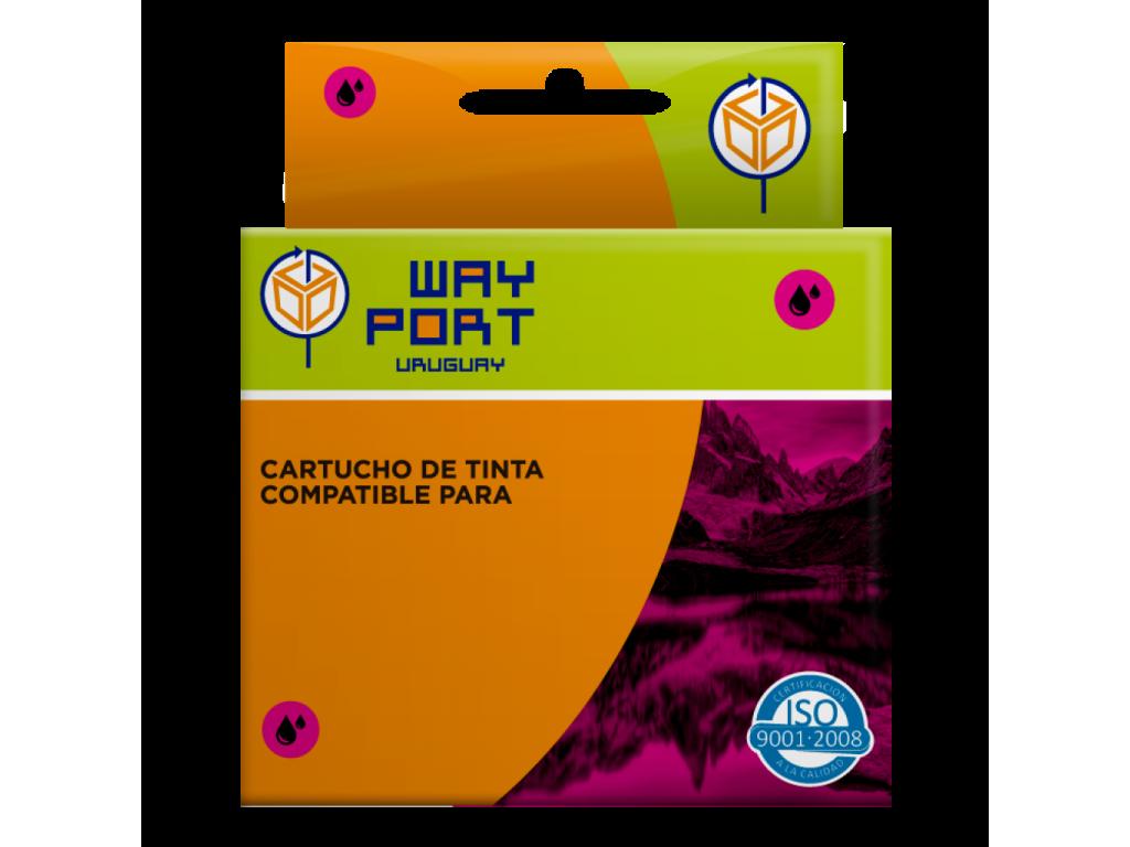 CART. WAYPORT MAGENTA P/EPSON T25 / TX 123 / TX 125 / TX 133 / TX 135 / TX235W / TX320F / T420W / T430W
