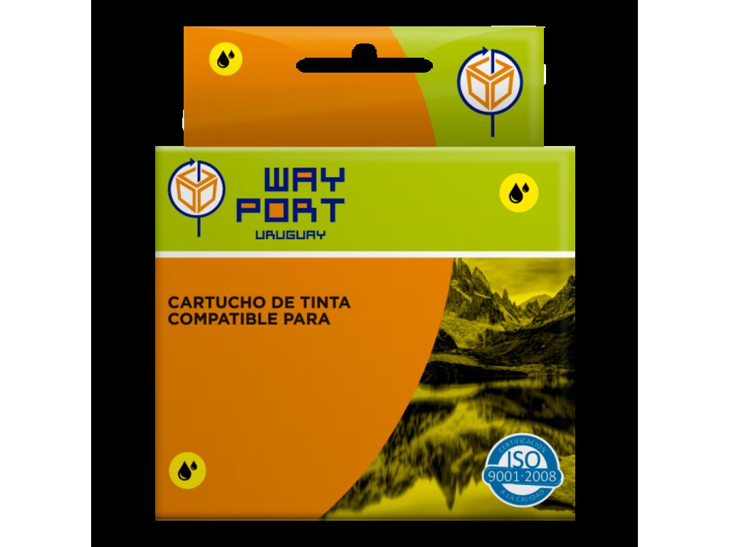 CART. WAYPORT YELLOW P/EPSON T25 / TX 123 / TX 125 / TX 133 / TX 135 / TX235W / TX320F / T420W / T430W