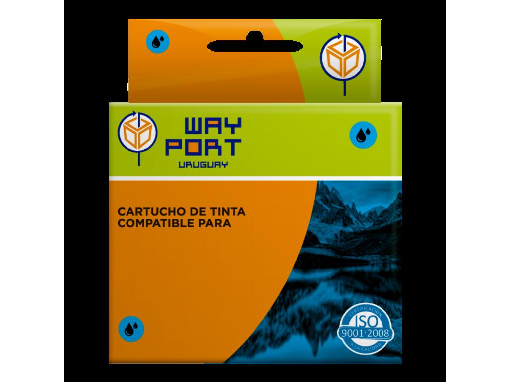 CART. WAYPORT CYAN P/EPSON STYLUS T40W/T1110/TX510FN/TX515FN/TX550W/TX600FW/TX610/T1100