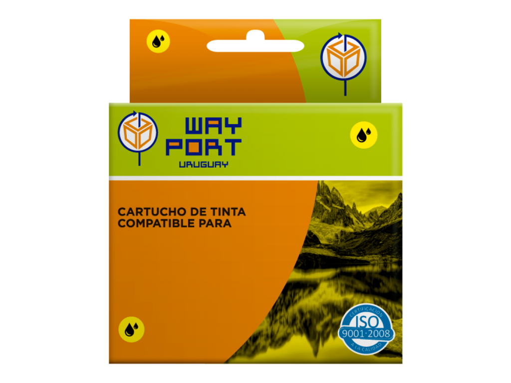 CART. WAYPORT YELLOW P/EPSON T42/TX525/TX560/TX620 WORKFORCE 60/625/630/633/7010/545/840/845