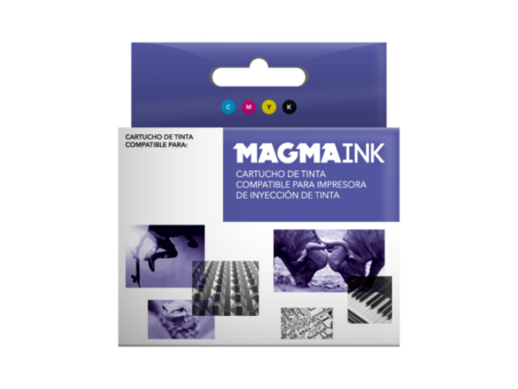 CART. MAGMA BLACK P/ EPSON XP-235 / 332 / 335 / 432 / 435