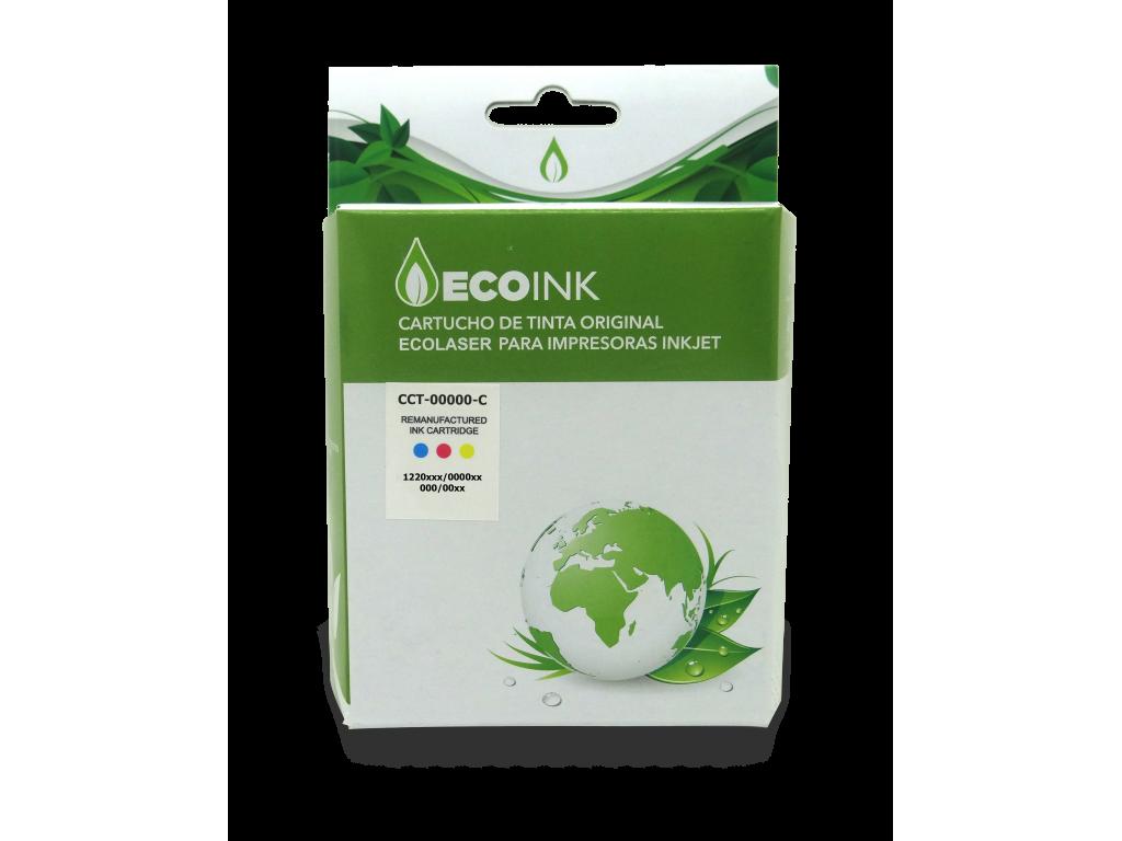 CART. ECO INK  COLOR P/HP CC644WL(60) XL  D2530/60 F4280/4480