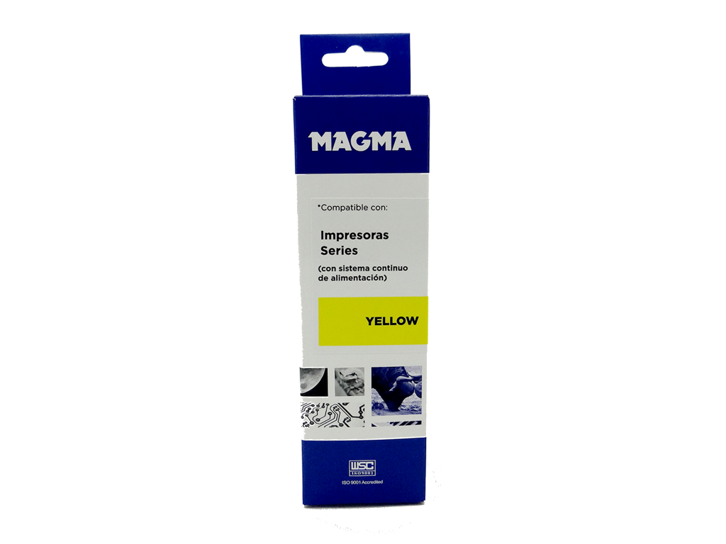 BOT. ORIGEN TINTA YELLOW DE 100ml UNIVERSAL P/BROTHER, EPSON, CANON Y HP