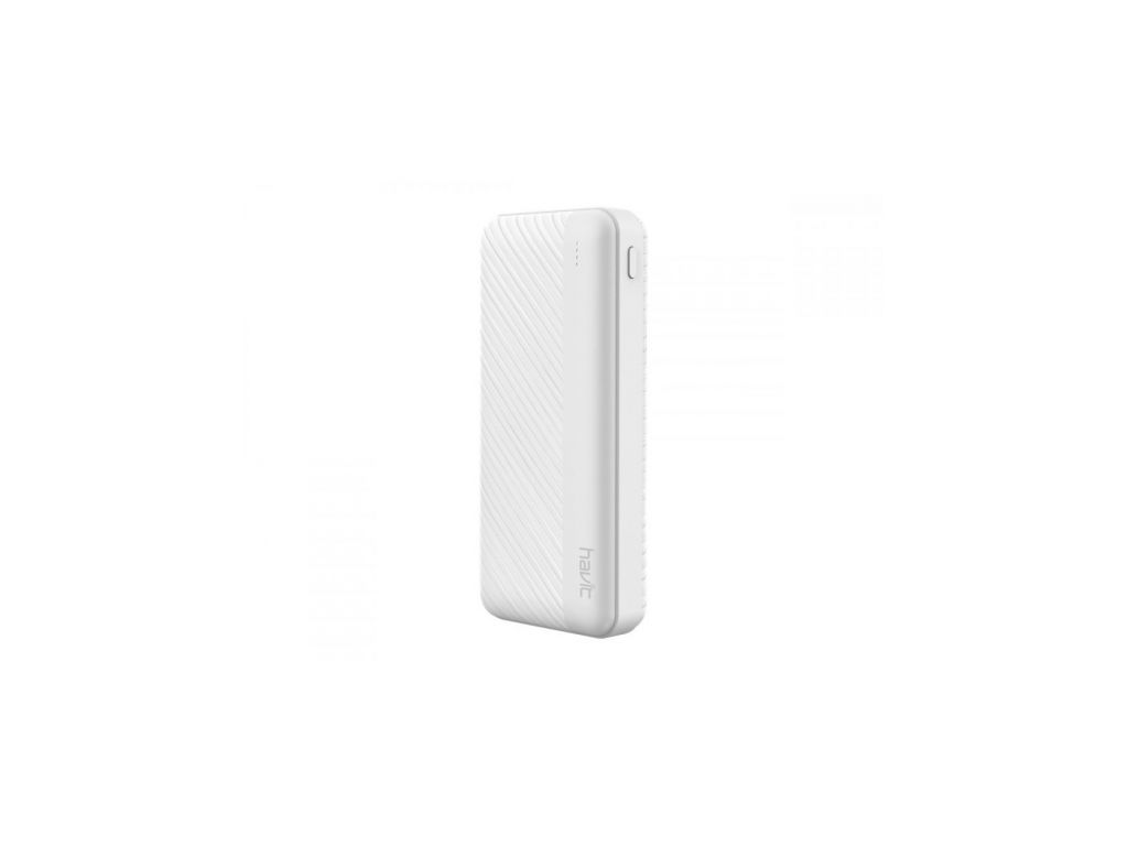 POWER BANK HAVIT DE 10000mAh, COLOR BLANCO