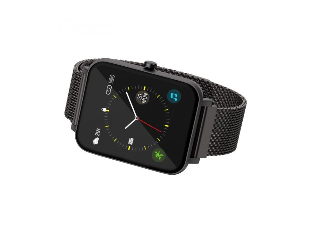 RELOJ INTELIGENTE HAVIT, COLOR NEGRO (SMART WATCH)