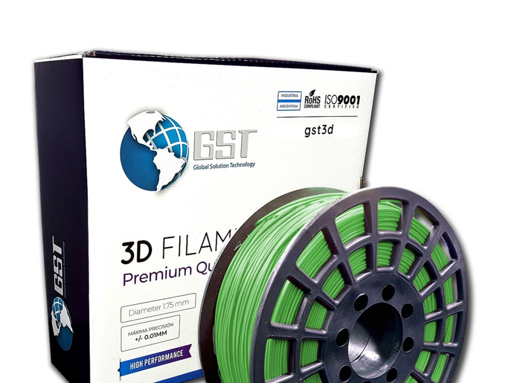 FILAMENTO P/IMPRESORA 3D PLASTICO DE 1.75MM / 1KG VERDE MILITAR