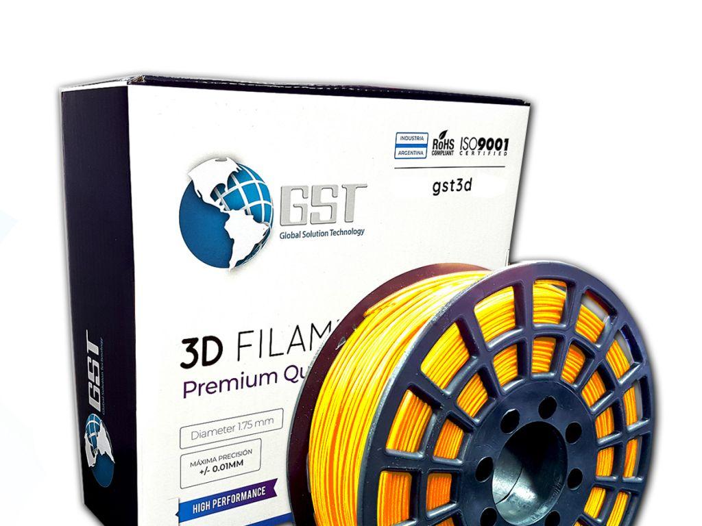 FILAMENTO P/IMPRESORA 3D PLASTICO DE 1.75 MM / 1KG GOLD