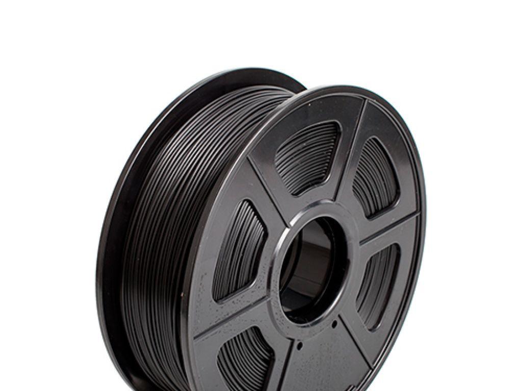 FILAMENTO P/IMPRESORA 3D PLASTICO DE 1.75 MM / 1KG BLACK